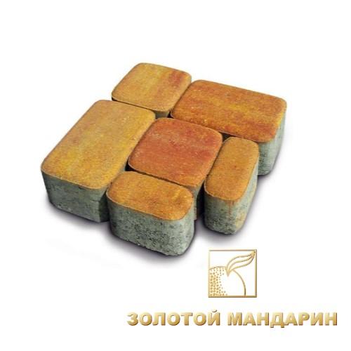 Тротуарная плитка «Золотой мандарин»